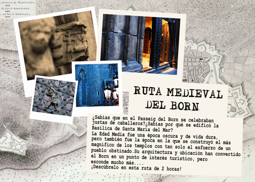 Ruta medieval borne flyer